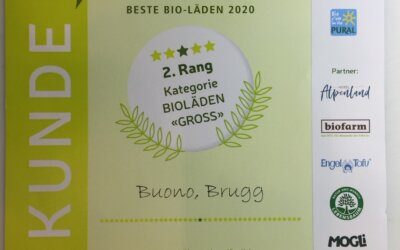 Silbermedaille für Buono